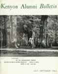 Kenyon Alumni Bulletin - July-September 1964