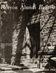 Kenyon Alumni Bulletin - October-December 1964