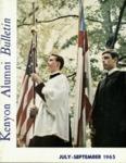 Kenyon Alumni Bulletin - July-September 1965