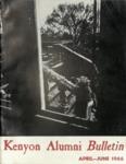 Kenyon Alumni Bulletin - April-June 1966