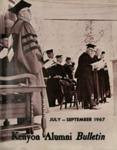 Kenyon Alumni Bulletin - July-September 1967