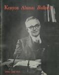 Kenyon Alumni Bulletin - April-June 1968