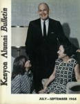 Kenyon Alumni Bulletin - July-September 1968
