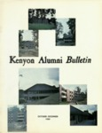 Kenyon Alumni Bulletin - October-December 1969