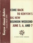Kenyon Alumni Bulletin - January-March 1970