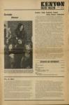 Kenyon College Bulletin - May 1972