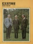 Kenyon College Bulletin - July 1974