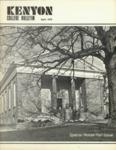 Kenyon College Bulletin - April 1976