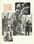 Kenyon College Alumni Bulletin - April 1977