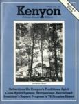 Kenyon College Alumni Bulletin - Summer/Fall 1978