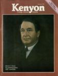 Kenyon College Alumni Bulletin - Summer 1981
