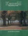 Kenyon College Alumni Bulletin - Summer/Fall 1982