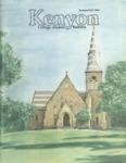 Kenyon College Alumni Bulletin - Summer/Fall 1984