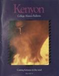 Kenyon College Alumni Bulletin - Winter 1987-88
