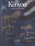 Kenyon College Alumni Bulletin - Fall 1988