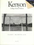 Kenyon College Alumni Bulletin - Spring 1989