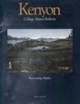 Kenyon College Alumni Bulletin - Winter 1989-90