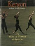 Kenyon College Alumni Bulletin - March 1995
