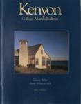 Kenyon College Alumni Bulletin - Summer 1996