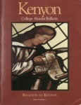 Kenyon College Alumni Bulletin - Winter/Spring 1998