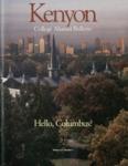 Kenyon College Alumni Bulletin - Fall/Winter 1998