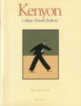 Kenyon College Alumni Bulletin - Fall/Winter 2000-01