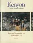 Kenyon College Alumni Bulletin - Winter/Spring 2001-02