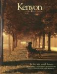 Kenyon College Alumni Bulletin - Winter 2007