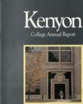 Kenyon College Alumni Bulletin - 1985-86 Annual Report
