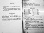 William's Mt. Vernon City Directory 1858-9