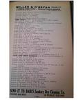 Albert Hywarden, 1929 Walsh City Directory, Mt Vernon Ohio