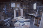 The workshop of Dan Miller, custom furniture maker