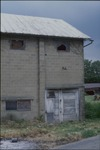 Back side view of building on corner of Quaker and Waterford Roads by Eleanor S. Dahlin