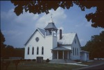 United Methodist Church at the southeast corner of Waterford Rd. and Yankee St. by Gloria Parsisson
