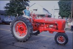 A lady farmer who also drives a tractor by Norma Laughrey