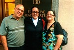 Gigi Gonzalez Cottrell with her mother and father