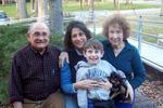 Balinda CraigQuijada, with her Venezuelan father, Oklahoman mother, and son Felix.