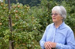 Maureen at Glen Hill Orchards by Amelia Dunnell