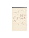 Letter to Intrepid Morse by Charles Pettit McIlvaine