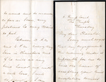 Letter to Chevalier Bunsen by Joseph Kay