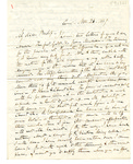Letter to Bishop Bedell by Charles Pettit McIlvaine