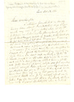 Letter to G. W. Du Bois (son-in-law) by Charles Pettit McIlvaine
