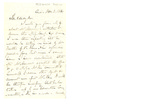 Letter to unknown clergyman by Charles Pettit McIlvaine