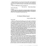 Letter to Frederick Seward
