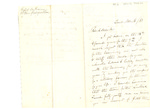 Letter to Rev. Smith