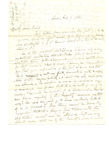 Letter to unknown bishop by Charles Pettit McIlvaine