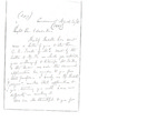 Letter to Bishop Whittingham by Charles Pettit McIlvaine
