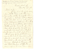 Letter to Emily McIlvaine (wife)
