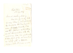 Letter to Maria (Mamy) Du Bois (daughter)