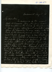 Letter to S. P. Chase by Charles Petit McIlvaine